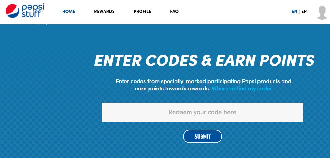 Enter Pepsi Stuff Codes Related Keywords & Suggestions