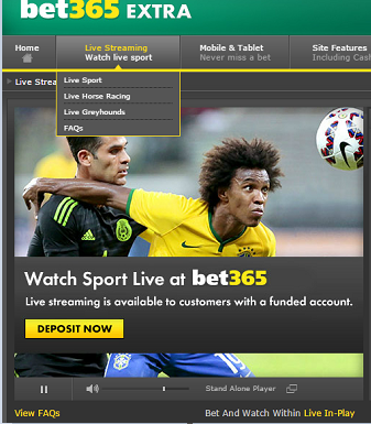 bet365 fullscreen