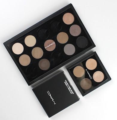 MAC eye shadow eyeshadow pro palette 15 travel palette 4 pans