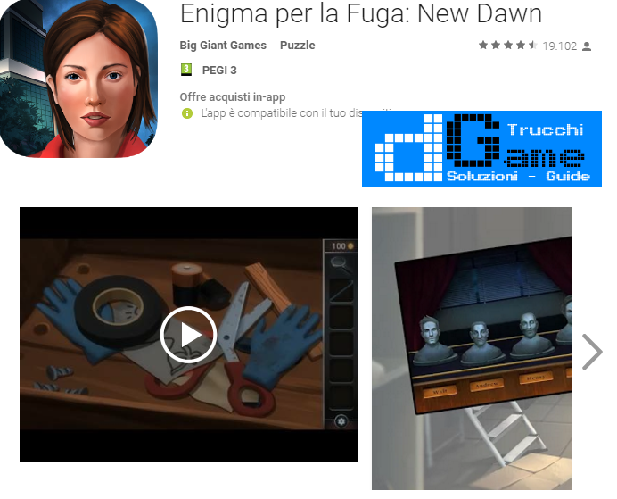 Soluzioni Enigma per la Fuga: New Dawn di tutti i livelli | Walkthrough guide