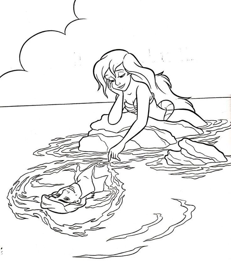 Desenhos De Sereia Para Imprimir