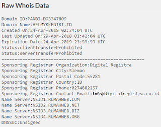 Cara memilih tempat registrasi domain