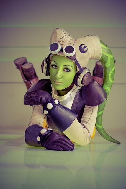 Star Wars Rebels Hera Costume play