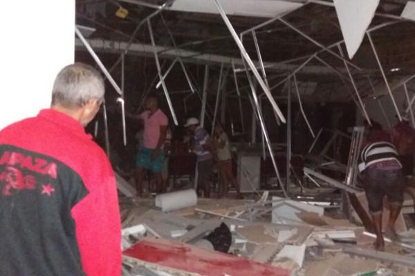 Mais um banco é atacado no Ceará