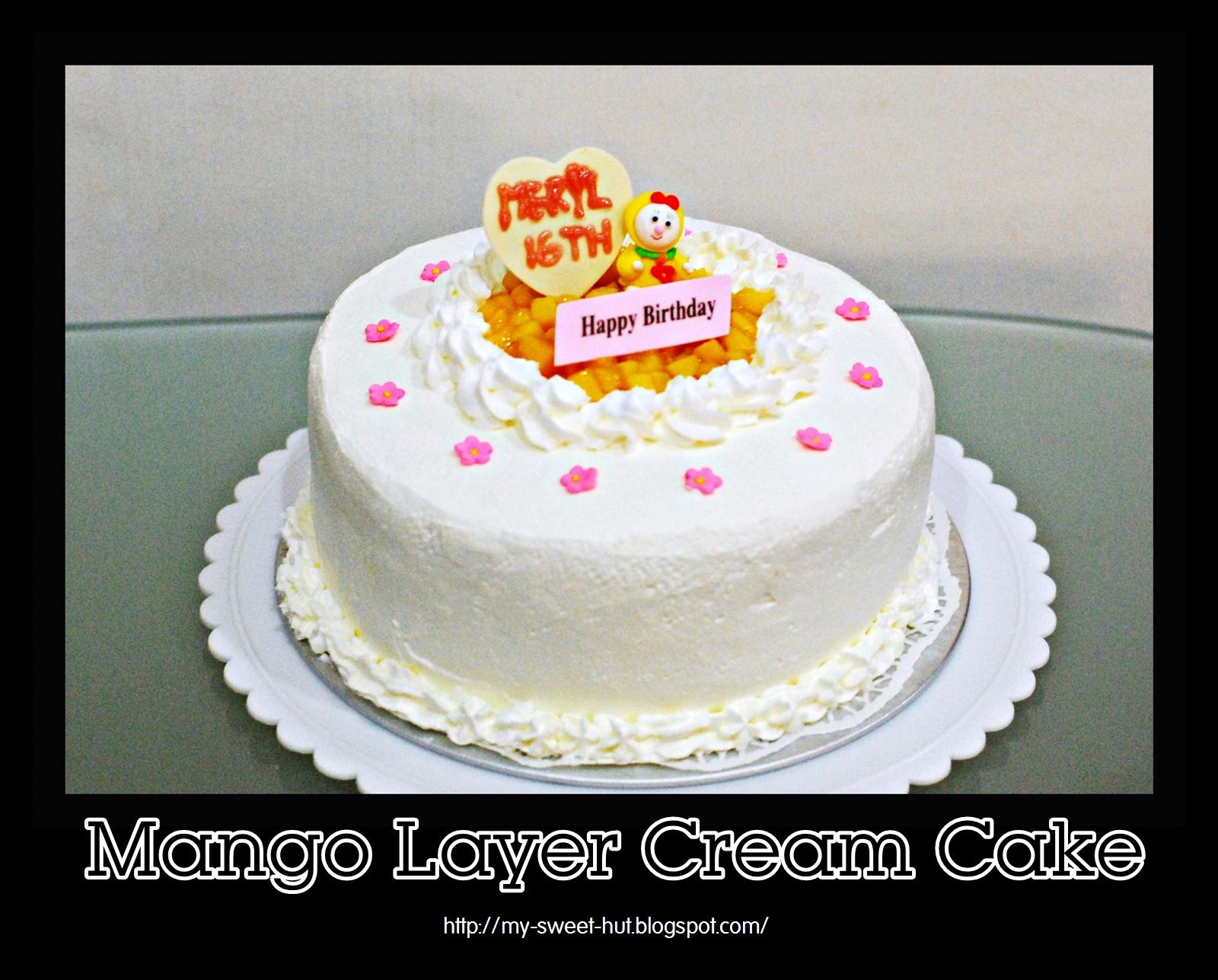 Happy Birthday Meryl Cake