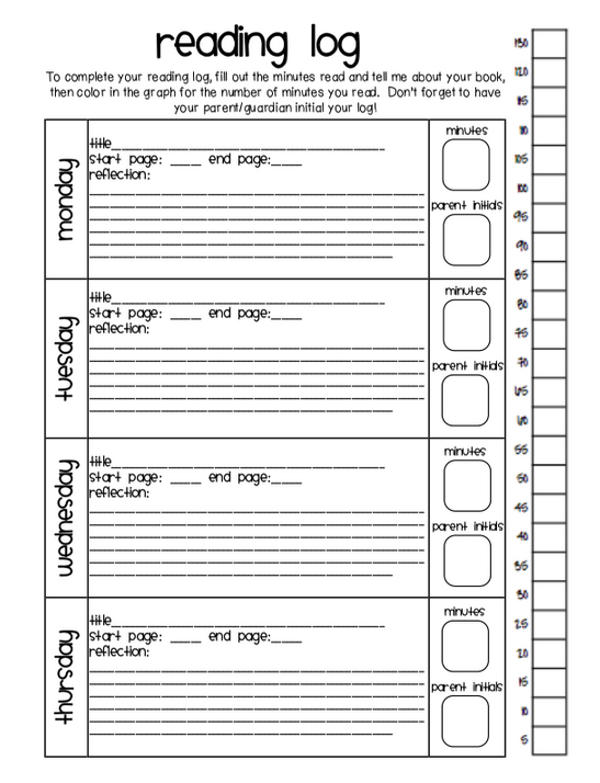 4th grade reading log template - spelling homework for 3rd graders 5th grade spelling