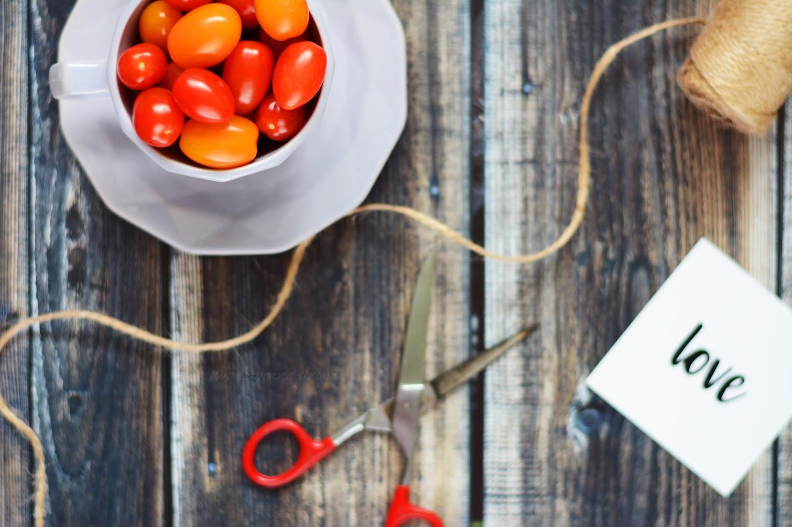 Plany wakacyjne - printea - pomidorki - love - duka