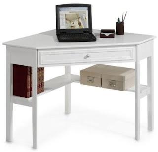 Small White Corner Desk