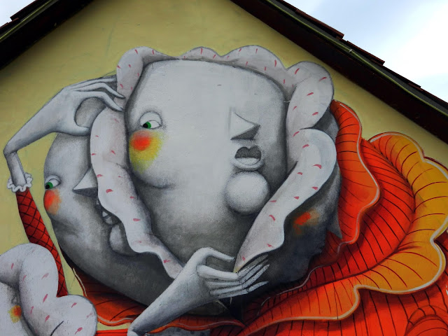 Street Art By ZED1 in Deva, Romania For Urban BIKE TAG Event. 2