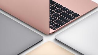 apple y sus nuevas backbook incluyen un color rosa
