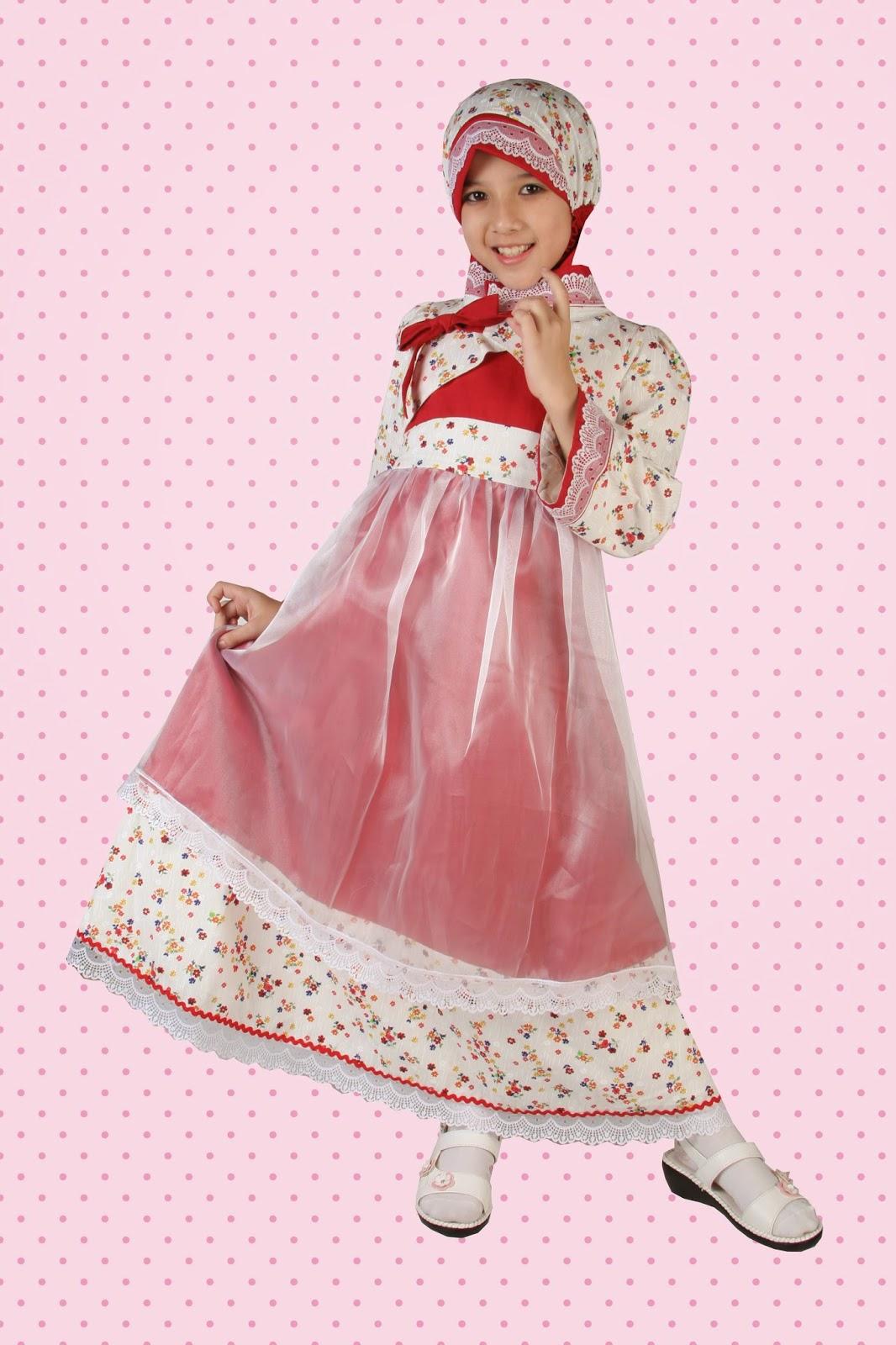 Model Busana Muslim Terbaru Untuk Anak Perempuan