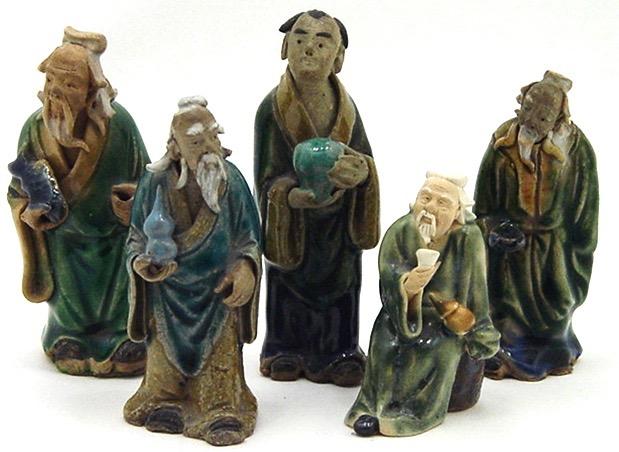 shiwan mudmen figurines