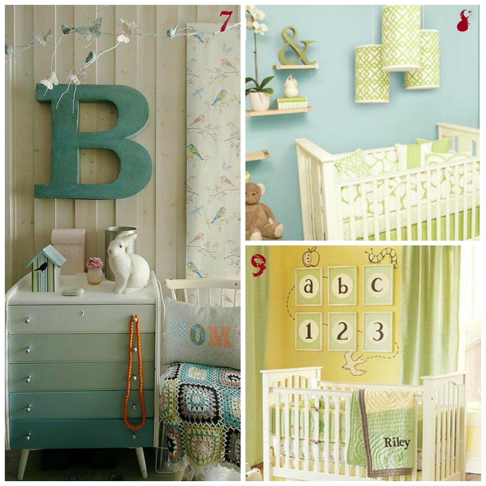 Camerette bambini idee come riordinare la cameretta idee for Decorare stanza neonato