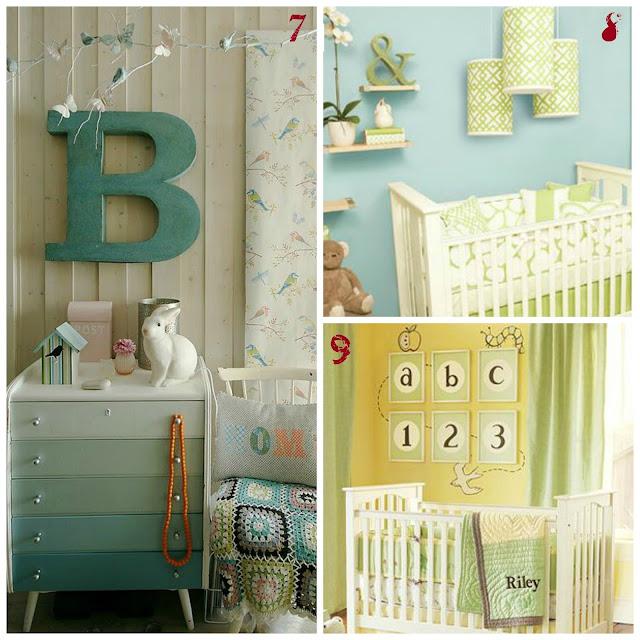 Idee per arredare la cameretta dei bimbi le creazioni di for Decorare pareti stanza bambino