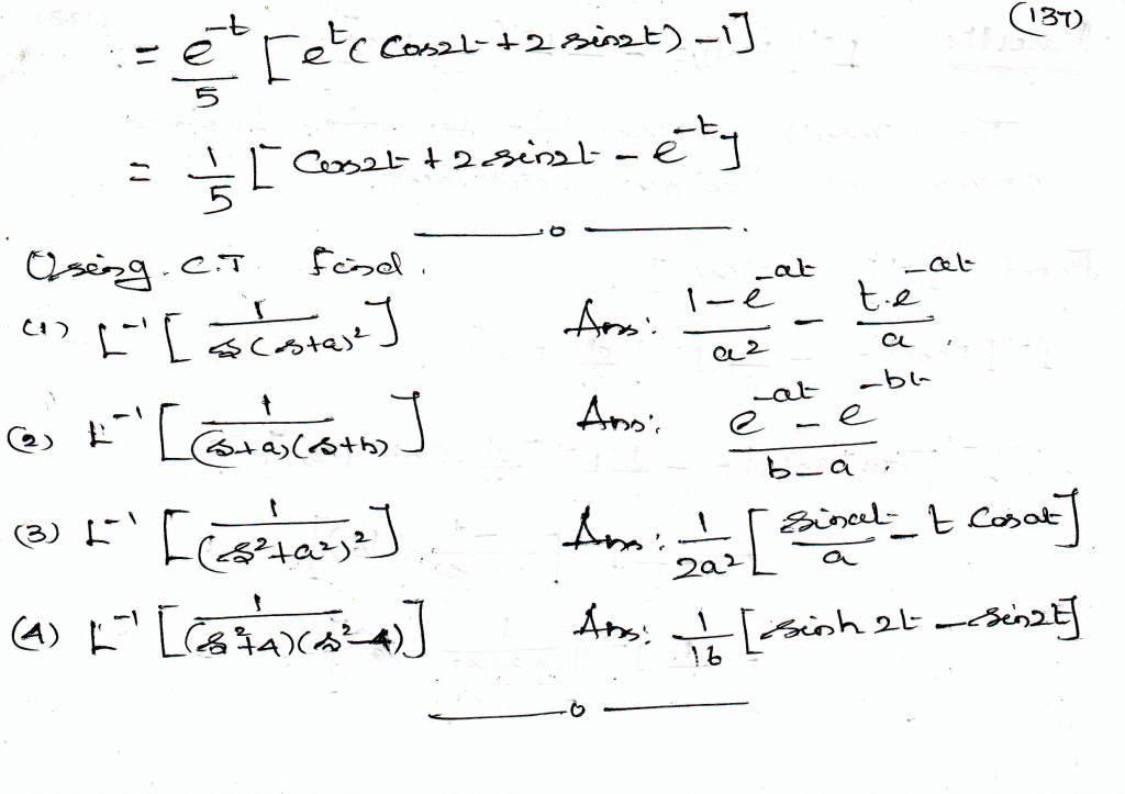 laplace transform of integral pdf