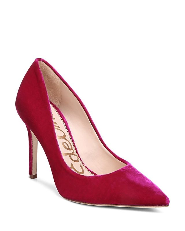 Sam Edelman Velvet pump shoes