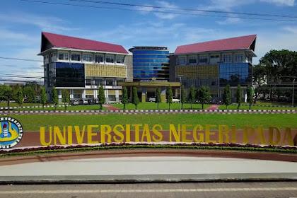 Pendaftaran Mahasiswa Baru (UNP-PADANG) 2021-2022