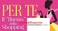 Logo Diventa tester e ricevi gratis un buono sconto da 15 euro ShowRoomPrivè