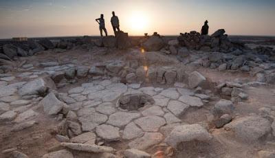 Situs prasejarah tempat penemuan roti tertua di dunia