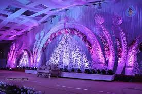 stage of Jyothirmayi's wedding