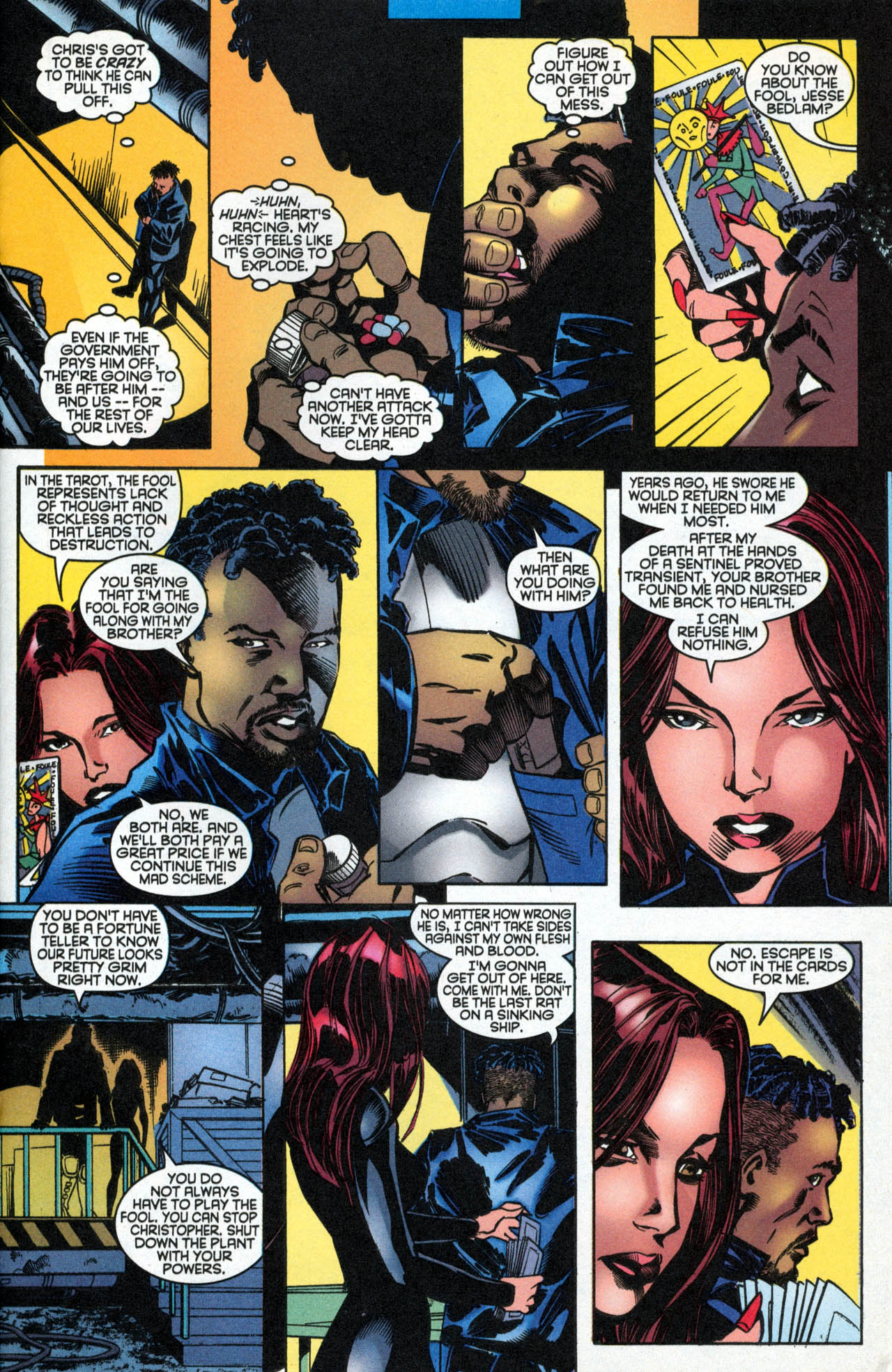 Read online X-Force (1991) comic -  Issue #89 - 20