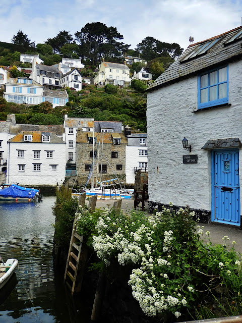 Cottage at Polperro Harbour, Cornwall