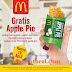 Promo McDonalds Terbaru Gratis Apple Pie  Edisi Pilkada Periode 19 April 2017