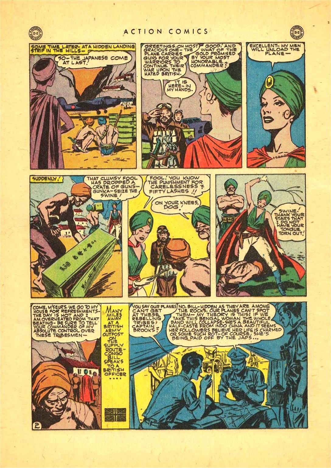 Read online Action Comics (1938) comic -  Issue #92 - 16