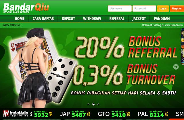 BandarQiu Judi Domino Poker