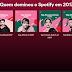 Spotify lança 'Retrospectiva Musical 2017' de cada usuário