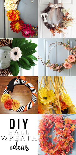 7 DIY Fall Wreaths to inspire you this fall season!
