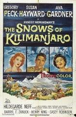 Película: las nieves del Kilimanjaro