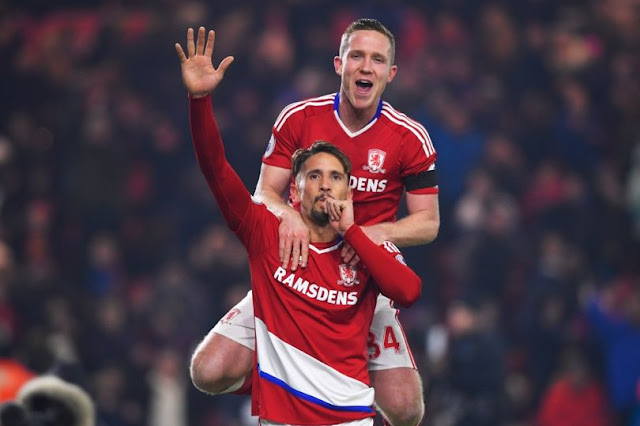Gaston Ramirez, Prediksi Middlesbrough vs Liverpool, EPL 2016/2017 GW 16