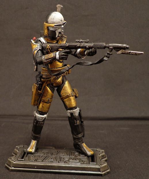 Stronox Custom Figures Star Wars Mandalorian Sniper