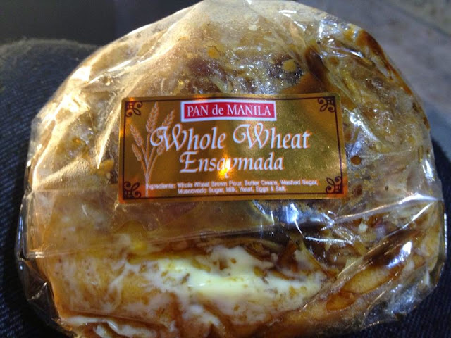 Pan De Manila's Whole Wheat Ensaymada