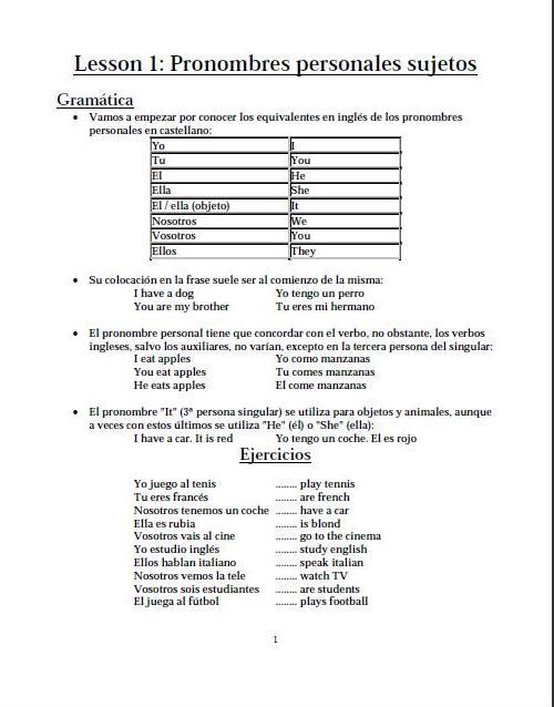 Ingles En 50 Lecciones Pdf Descargar Gratis