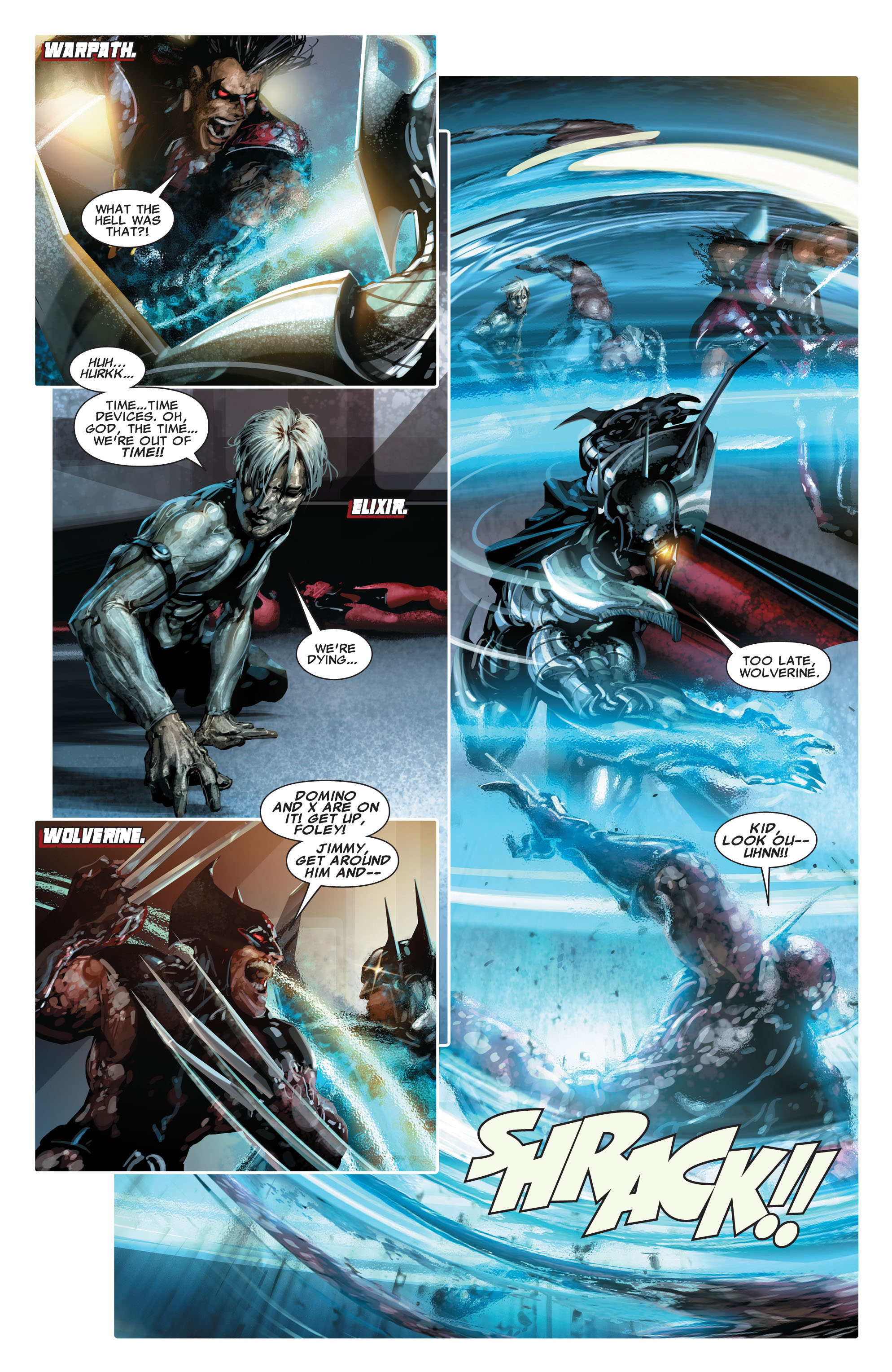 Read online X-Force (2008) comic -  Issue #16 - 5