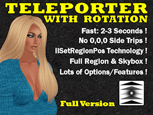Leaf Illusion: Teleporter with Rotation Full Version, Instructions