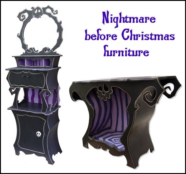 Nightmare before Christmas furniture  Nightmare Before Christmas theme bedroom decorating ideas - jack skellington decor - Nightmare Before Christmas Bedroom Decor -  Jack skellington Sally the nightmare before Christmas - Nightmare Before Christmas  bedding - Halloween - Tim Burton - Sally Nightmare Before Christmas bedroom