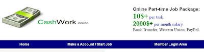 Cashwork.xyz scam, scam, internet scam