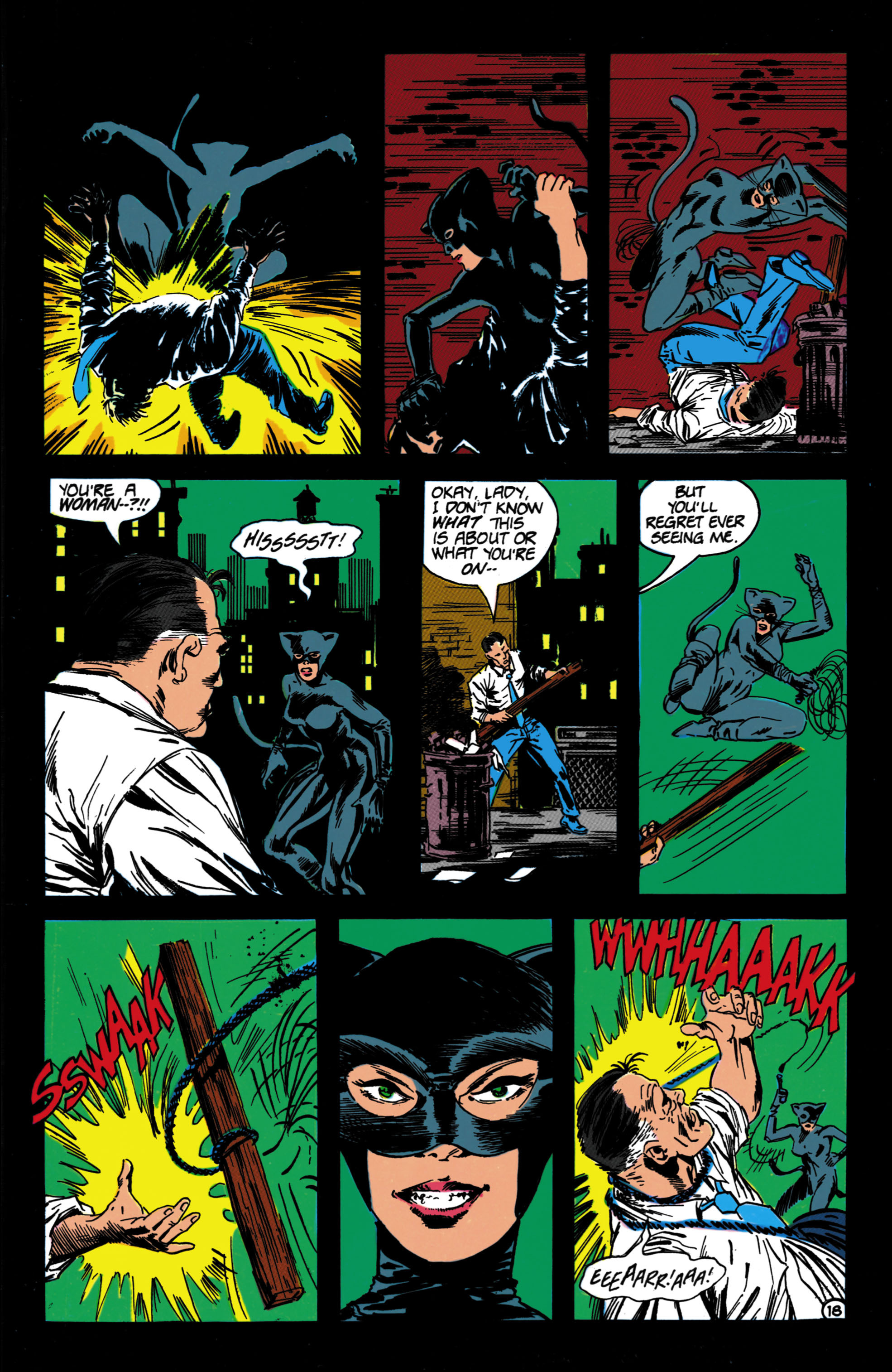 Catwoman (1989) Issue #4 #4 - English 19