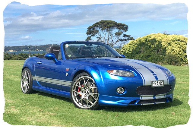 Frank's Winning Blue MX-5 NC