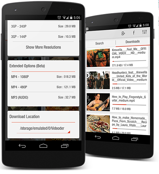 Download Videoder 9.0.0 Apk The Latest Version   Music and Video Downloader for Android   apk-get