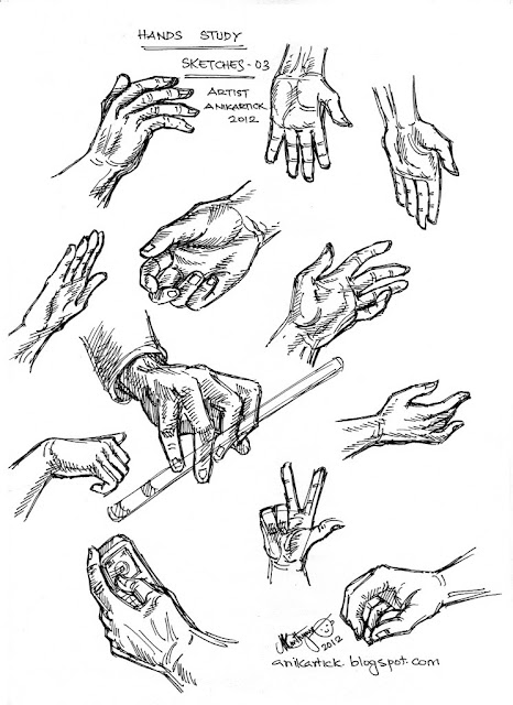 How To Draw Hands From Different Angles