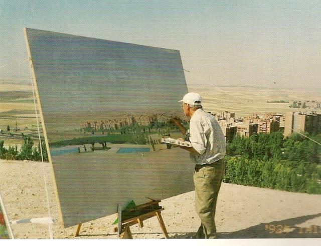 Antonio Lopez Garcia als inspirator voor cursisten schildercursus of schilderles Achterhoek