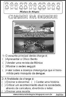 Charge sobre a dengue
