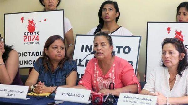 Perú: mujeres esterilizadas recurren a CIDH por delitos de DDHH