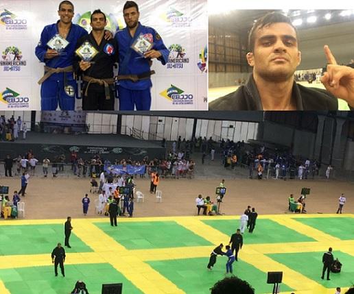 CAMPEÃO: Curraisnovense conquista o título no pan-americano de Jiu-Jitsu