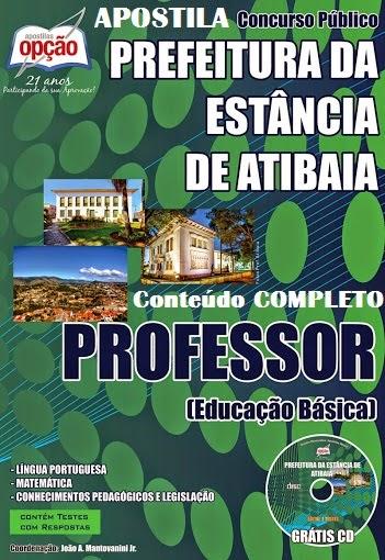 APOSTILA PROFESSOR (EDUCAÇÃO BÁSICA) DE ATIBAIA