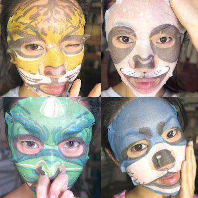 mascaras faciais de bicho coreana